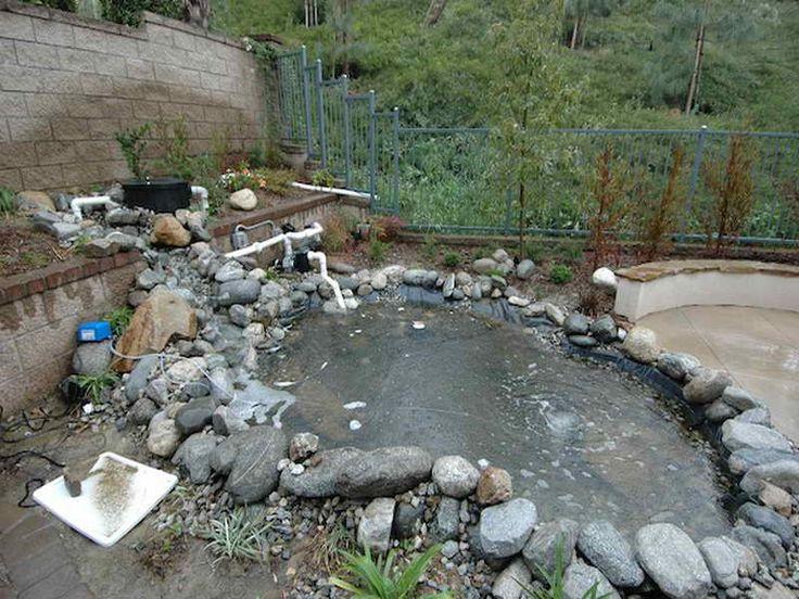 9 best koi pond images on pinterest backyard ponds koi for Fish pond structure
