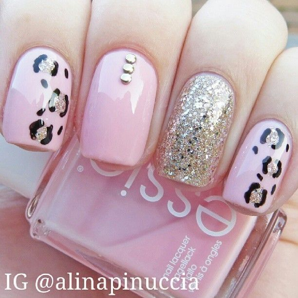 kitty cat nails by marie for all the girls