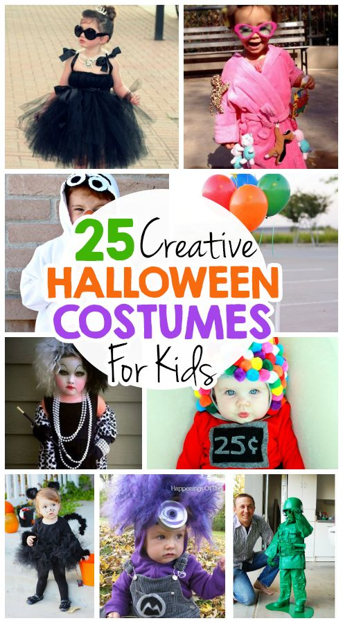 25 creative diy halloween costumes for kids halloween for Creative halloween costumes for kids