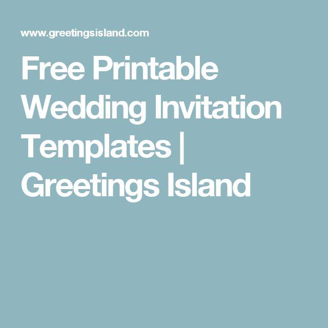 The 25+ best Kid free wedding invitations ideas on Pinterest - birthday card templates free