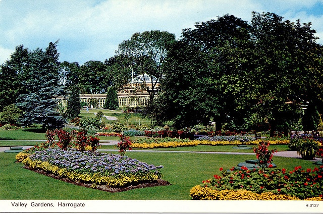 Valley Gardens, Harrogate, Yorkshire, England