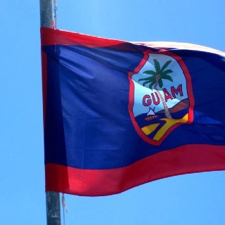 Guam Flag by Michele Catahay