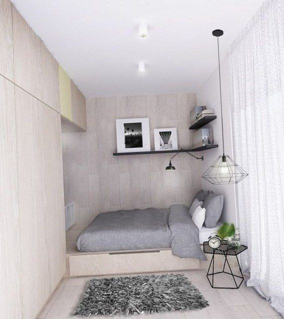 Modern small bedroom ideas - https://bedroom-design-2017.info/designs/modern-small-bedroom-ideas.html. #bedroomdesign2017 #bedroom