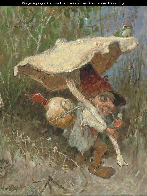 ≍ Nature's Fairy Nymphs ≍ magical elves, sprites, pixies and winged woodland faeries - Heinrich Schlitt