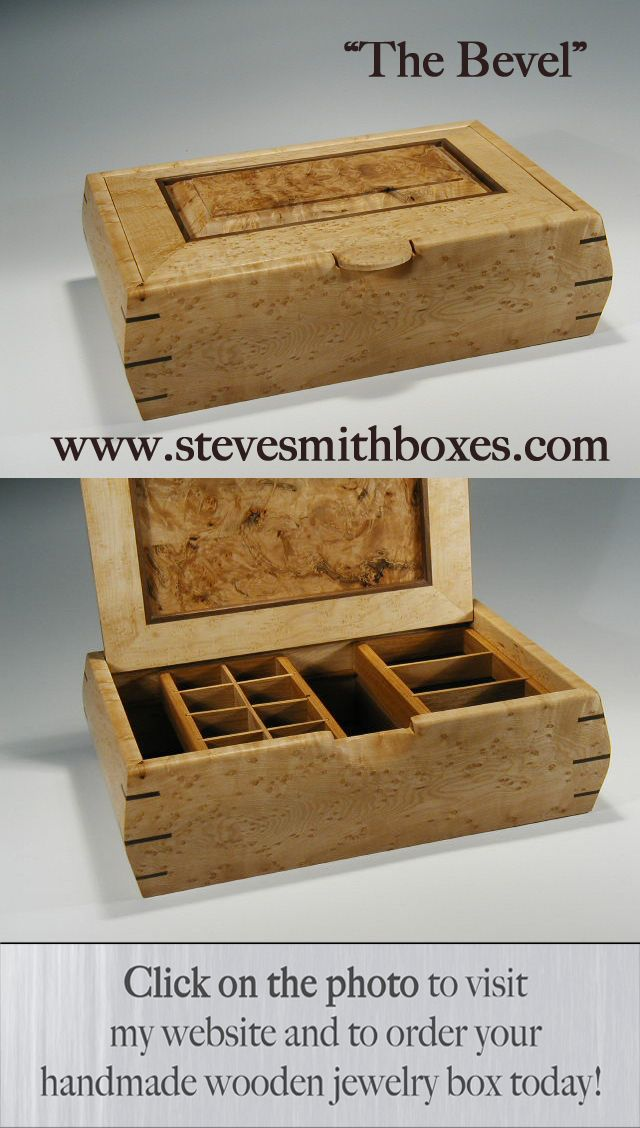 Handmade Wooden Boxes Make Truly Unique Gifts for Women or Men & 15 best Steve Smith Boxes images on Pinterest | Handmade jewelry ... Aboutintivar.Com