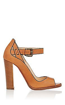 Habibabe Leather Ankle-Strap Sandals