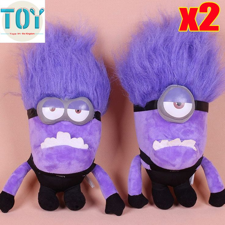 Find More Dolls Information about New 2 PCS Minions Purple Evil 3D Despicable ME 2 Movie Jorge Stewart Dave Plush Doll Approx 30cm 20cm Kids Toys Free Tracking,High Quality toy,China doll toy Suppliers, Cheap toy baby boy doll from Toys in the Kingdom on Aliexpress.com