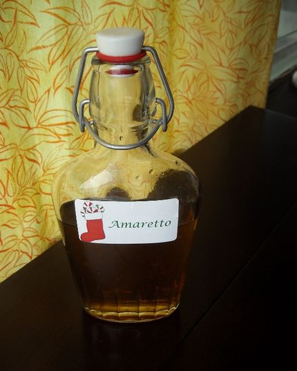 Start making liqueurs now to give out for Christmas! Note to self: TJ Maxx and Marshall's have lots of cute bottles.