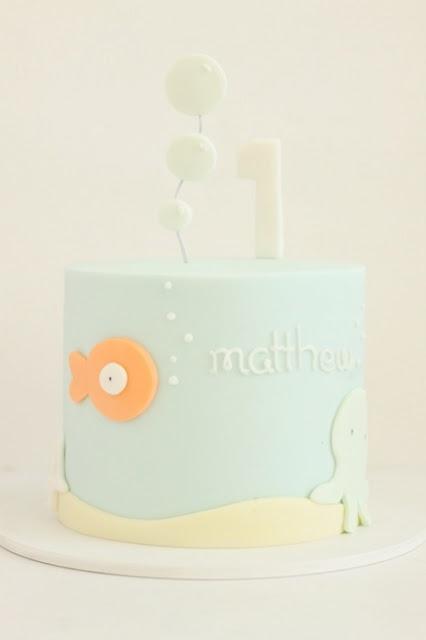 simple and sweet ocean cake