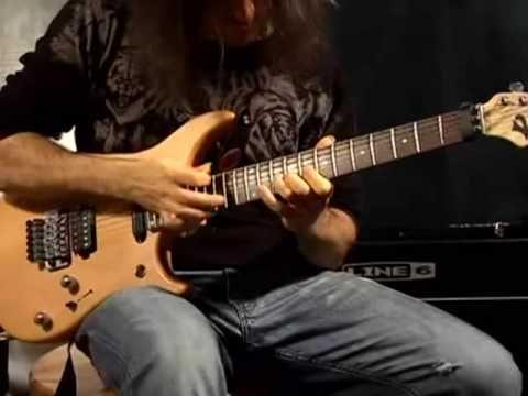 """Ron """"Bumblefoot"""" Thal - Chopin Fantasie on electric guitar"""