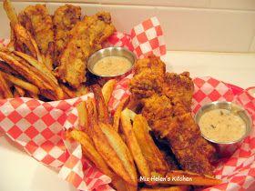 Old Fashioned Diner Food - Steak Fingers Recipe - Miz Helen's Country Cottage