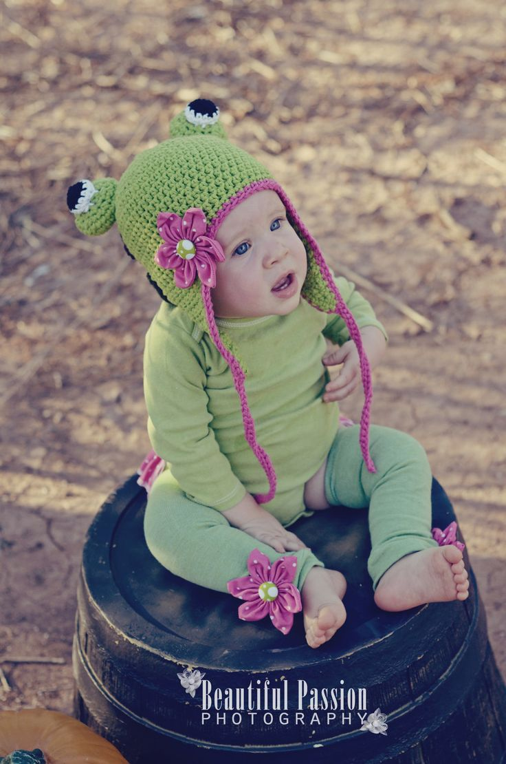 Girly Speckled Frog Costume