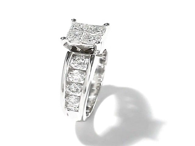 Spectacular  Ct White Gold Engagement Ring Jcpenney