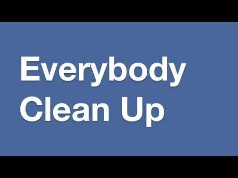 """I got so sick of singing """"Clean up, clean up, everybody everywhere, clean up, clean up, everybody do your share"""" so I made this song up. Download the mp3 her..."""