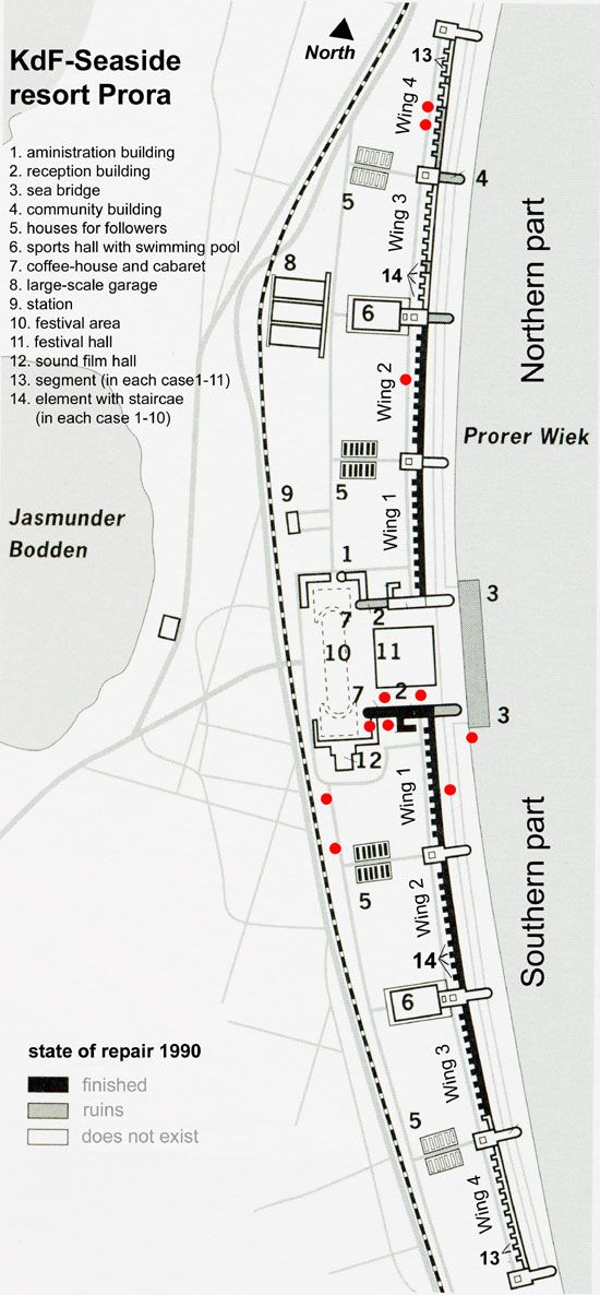 Dokumentationszentrum Prora - map