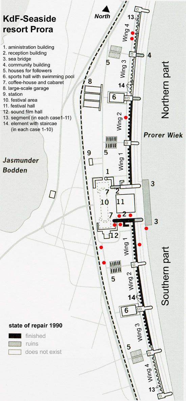 Dokumentationszentrum Prora - map