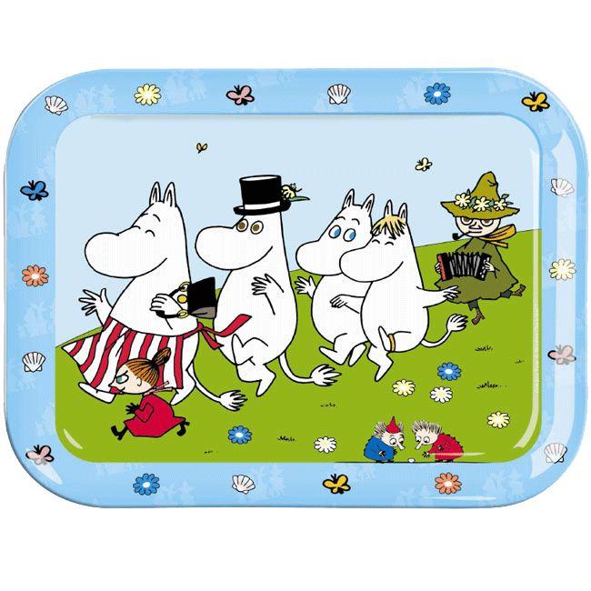 moomins tray