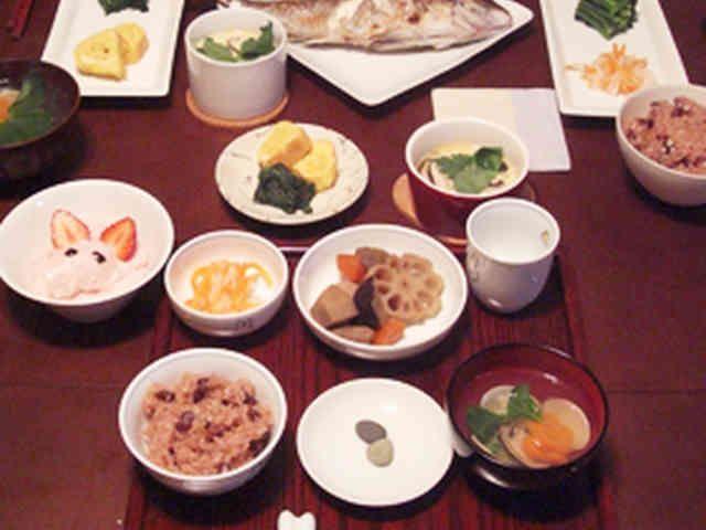 100日祝♡お食い初めメニューの画像