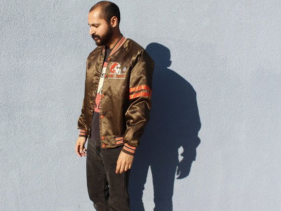 Cleveland Browns Jacket Medium Vintage 90s Cleveland Browns NFL Snap Button Jacket Vintage Browns Jacket Medium 90s NFL Browns by DiveVintage from Passport Vintage. Find it now at http://ift.tt/2k3yQIk!