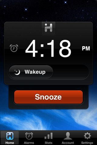 iHome + Sleep: You don't need an iHome dock to use the iHome + Sleep app (free) , which has a gentle wake function to slowly rouse you from sleep using sounds, effects, or your favorite music.