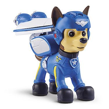 Paw Patrol Air Rescue Pup Figure with Badge - Chase