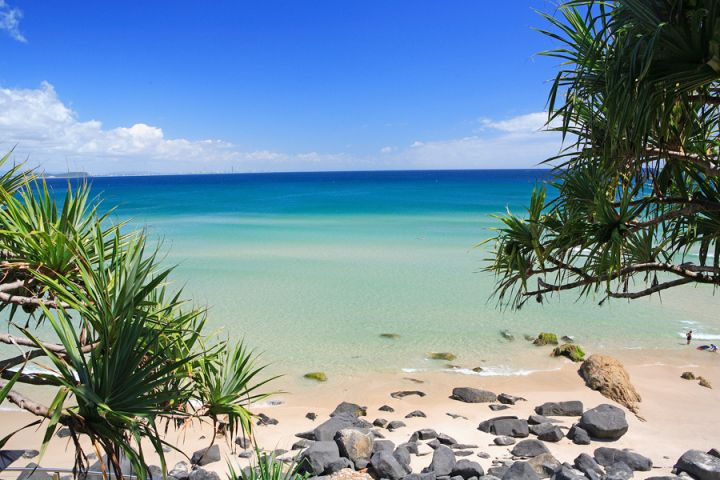 Greenmount Beach, Coolangatta, Queensland, Australia.