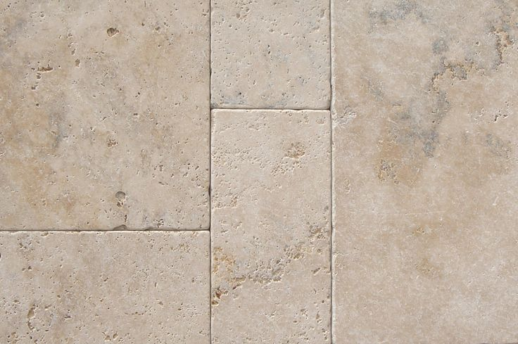 Rustique travertine tumbled french pattern set  #tiles #travertine #naturalstone #frenchpatternset