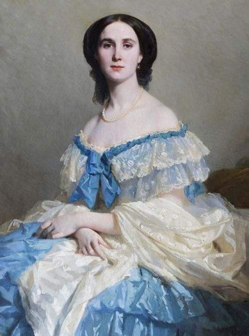 Isidore Pils - Empress Charlotte of Mexico - 1859