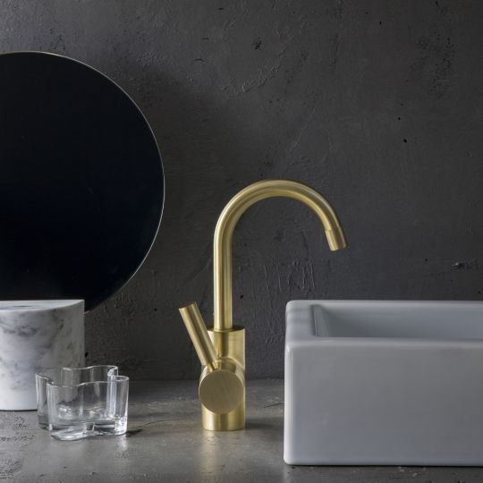 Alluring with raw luxury, the stunning Urban Brass finish is never utilitarian. For designs defined by quality, inspiration and the perfect balance of elements, this finish is elegant and engaging. Particularly in contemporary settings where Urban Brass brings an effortless flexibility. It can...