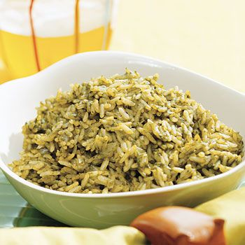Arroz Verde (Green Rice) recipe - Fresh Juice