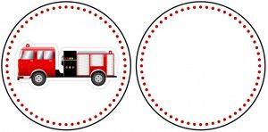brandweerwagen cirkel