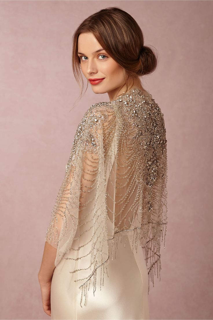 Ursa Beaded Wrap in Shoes & Accessories Cover Ups at #WishBigWinBigGiveaway, #wedding and #registry BHLDN