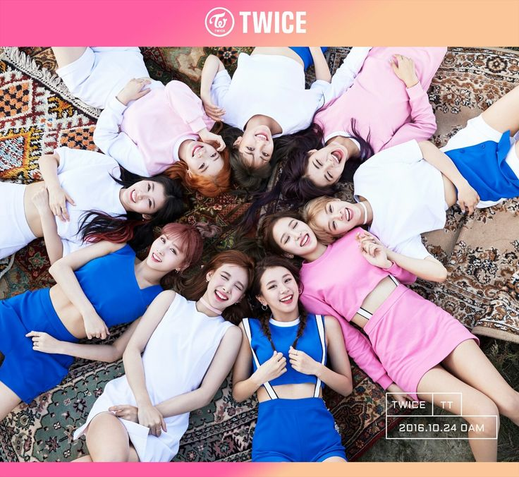 twice group photo