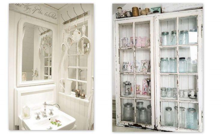 26 snygga idéer på hur du återvinner gamla fönster