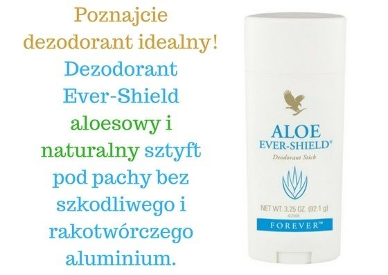 Forever - Dezodorant Ever-Shield (aloesowy sztyft) - Forever - nie zapycha porów, jak zwykły antyperspirant (dlatego właśnie, że nie zawiera aluminiunim). Nie brudzi garderoby. Delikatny zapach naturalnie harmonizuje z zapachem czystej skóry - #dezodorant #pielegnacja #naturalnekosmetyki #kosmetykinaturalne  #polecam #aloes #aloe