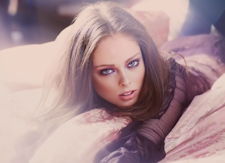 Coco Rocha highlighted by WWD Beauty
