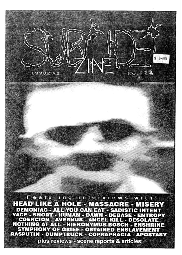 Subcide Zine #2 cover