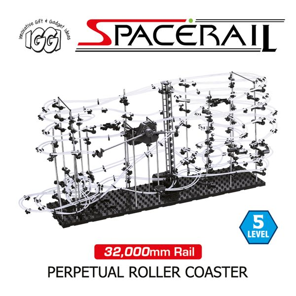 10 best space rail perpetual marble run images on pinterest marble iggi spacerail level 5 marble run roller coater fandeluxe Image collections