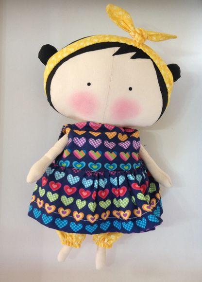 Mini Tilda Sweetheart Vestidinho
