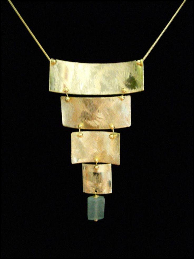 Gold Vermeil and Adventure Elegant Designer Necklace