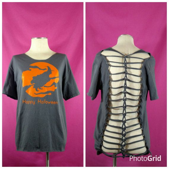 Hey, I found this really awesome Etsy listing at https://www.etsy.com/listing/473684175/halloween-shredded-shirt-halloween