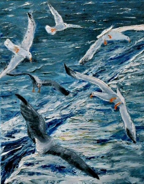 1000 id es sur le th me peintures l 39 huile sur pinterest peintures art et artistes - Pinterest peinture a l huile ...