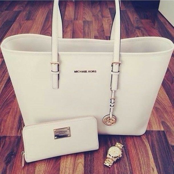 EXACTLY My Style| Michael Kors tote bag! $78 white blazer!