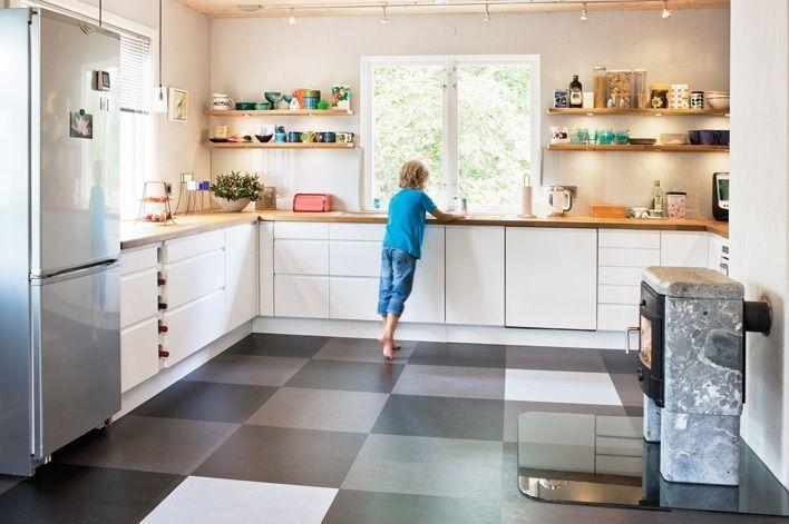 Golv Kok Rutigt : kok rutigt golv  matplats, Matbord, Rutigt, Rutigt golv, barstol
