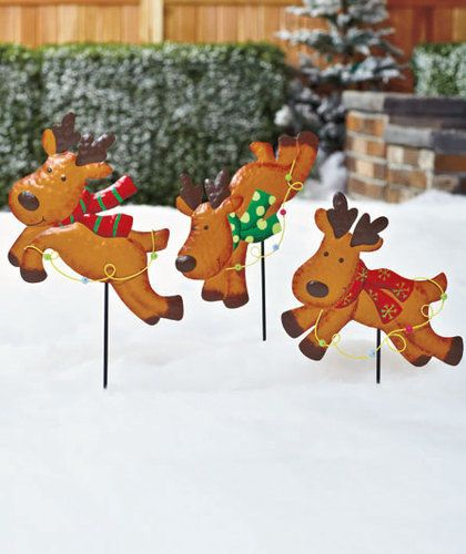 Christmas Caroler Yard Stakes: 1000+ Images About Diy Yard Decorations On Pinterest
