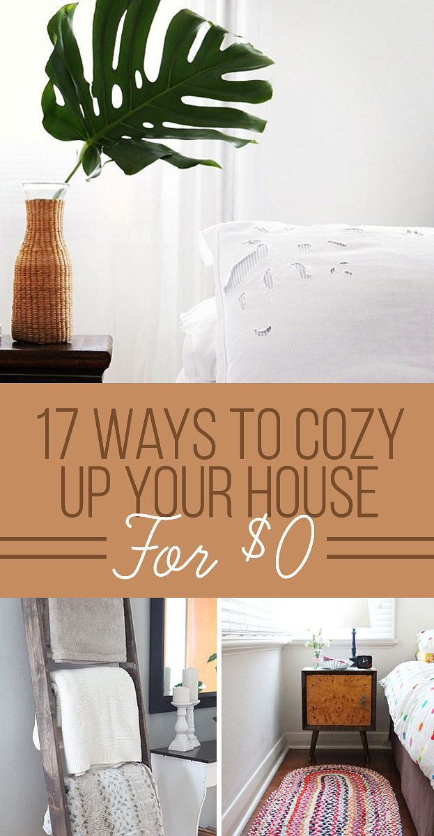 17 Ways To Cozy Up Your Home For  0
