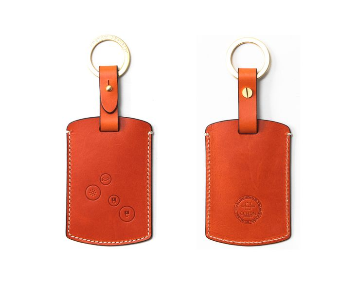 Samsung smart Handmade Buttero Leather Smart Key Cover/Case   -Handmade by: Custom Republic  -Leather: Vegetable leather from Conceria Walpier & Vera Pelle -Attachment pieces: 18K gold satin coating - Colors: natural, yellow, orange, brown, navy, and camouflage -Thread & Stitching: Serafil (from Germany)  -Measurement: 6.8cm x 17cm