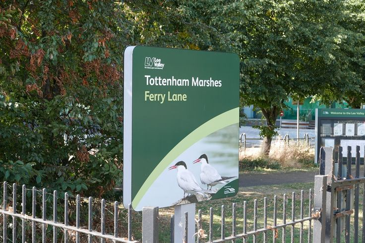 The Tottenham Marshes are located at Tottenham in the London Borough of Haringey. The marshes cover over 100 acres (0.40 km2) and became part of the Lee Valley Park in 1972. Tottenham Marshes connects you with the Lee Valley and Lea Valley Walks.