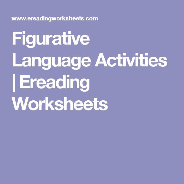 1000 ideas about figurative language activity on pinterest figurative language simile and. Black Bedroom Furniture Sets. Home Design Ideas