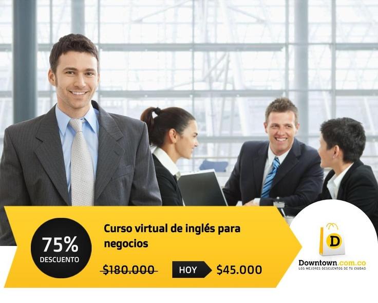 ¿Quieres aprender inglés? Sé más competitivo a nivel laboral  VISITA: www.Downtown.com.co